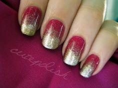 Effie Trinket nails. :)