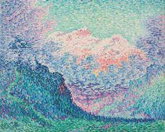 The Diablerets, 1903. Paul Signac