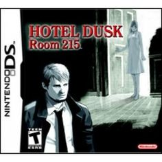 Hotel Dusk Room 215 is an Adventure video game for Nintendo DS. This game developed by Cing and published by Nintendo. Nds Rom are playable on PC with Nintendo Ds, Nintendo Games, Ds Games, Gamers, Hotel Guest, Mystery Novels, Plot Twist, Box Art, Peace Of Mind