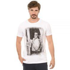 """Camiseta Estampada Masculina. Macho Moda - Blog de Moda Masculina: bypride apresenta sua Nova Coleção """"Back to 50's"""" + Review das Peças, Camiseta Elvis presley"""