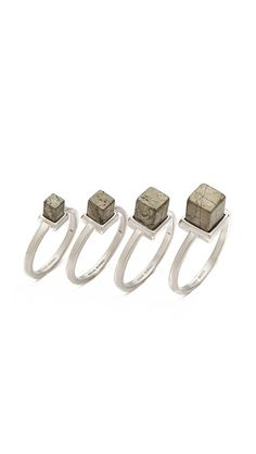 Stackable Cube Rings