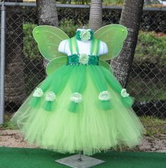 Tinkerbell Party, Fairy Wings, Tinker Bell, Baby Girls, Flower Girl Dresses, Costumes, Trending Outfits, Wedding Dresses, Handmade Gifts