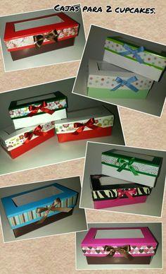 Cajas para cupcakes.