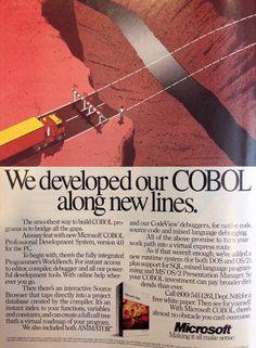 Microsoft COBOL advertisement, 1991