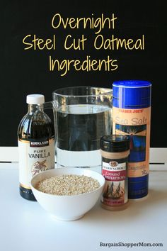 Easy Overnight Steel Cut Oatmeal Recipe - No Crockpot Required - Everyday Savvy