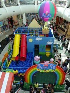 Shopping ABC recebe pela primeira vez na Grande São Paulo o Playground da Peppa Pig | Jornalwebdigital