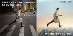 The Secret Life of Walter Mitty - Stop waiting for tomorrow and let life in today!  #LetLifeIn