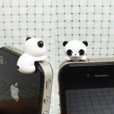 Adorable White Black Bear Hanging Little Panda Dust Plug 3.5mm Phone Accessory Cell Phone Plug iPhone Dust Plug Samsung Plug Phone Charm Headphone Jack Earphone Cap Ear Cap Dust Plug, http://www.amazon.com/dp/B00FV2TEUO/ref=cm_sw_r_pi_awdm_oO2dtb0ZF4JAG