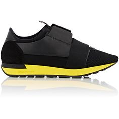 """Balenciaga """"Race Runner"""" Sneakers ($645) ❤ liked on Polyvore featuring men's fashion, men's shoes, men's sneakers, colorless, balenciaga mens shoes, balenciaga mens sneakers, mens slipon shoes, mens lace up shoes and mens slip on shoes"""