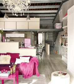 I absolutely LOVE the industrial, chic look!