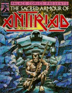 The Sacred Armour of Antiriad (Palace - 1986): 'Palace Comics' produced this 16 page tale to accompany the game.
