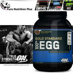 OPTIMUM NUTRITION GOLD STANDARD 100% EGG PROTEIN BEST BODYBUILDING SUPPLEMENT