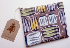 Hand made cometics bag , our pattern design