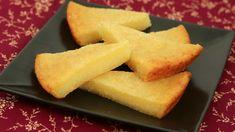 No-Fuss Recipe for a sweet and tasty Viet treat: Cassava Cake (Banh Khoai Mi Nuong)   recipe from runawayrice.com