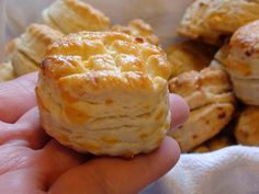 zsuzsa is in the kitchen: FLAKY BISCUITS - LEVELES POGÁCSA