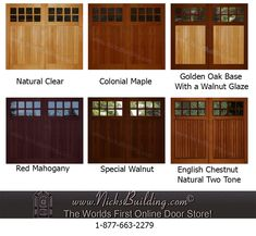 Shop for wooden overhead garage doors with immediate delivery. Wooden Garage Doors, Overhead Garage Door, Golden Oak, Painted Doors, Exterior Doors, Steel Garage, Door Ideas, Philosophy, Outdoor Decor
