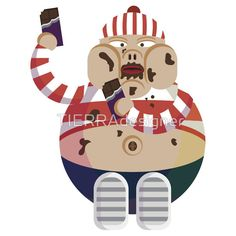 The best sticker for chocolate lovers in redbubble!