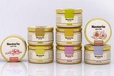 дизайн упаковки крем-меда Nectaria