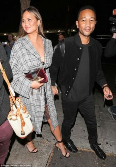Get checked out in a Zimmermann coat like Chrissy Teigen #DailyMail