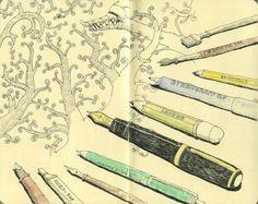 """""""nevver:  The Sketchbooks of Mattias Adolfsson  """""""
