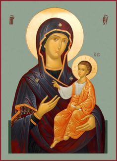 """The Mother of God, """"Tikhvin"""" Religious Icons, Religious Art, Mother Mary, Mother And Child, Queen Of Heaven, Byzantine Icons, Madonna And Child, Orthodox Icons, Blessed Mother"""
