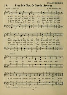 Pass me not, O gentle Savior - Fanny Crosby This Is Gospel Lyrics, Gospel Music, Music Lyrics, Music Songs, Hymns Of Praise, Praise Songs, Worship Songs, Christian Song Lyrics, Christian Music