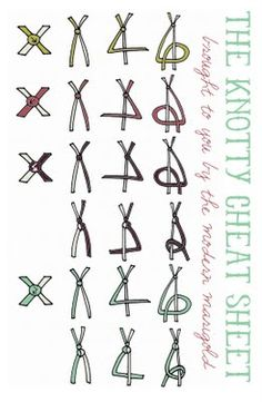 Crochet Macrame Knot - Tutorial  ❥ 4U // hf