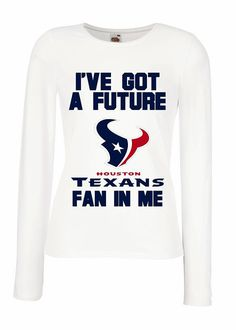 78d13320 ... IVE GOT A FUTURE HOUSTON TEXANS FAN IN ME MATERNITY SHIRT MATERNITY  CLOTHING FUNNY PREGNANCY ANNOUNCEMENT Houston Texans NFL Maternity T ...