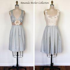 sage bridesmaid dresses | Independent Designer: Sage and Creme Bridesmaids Dresses