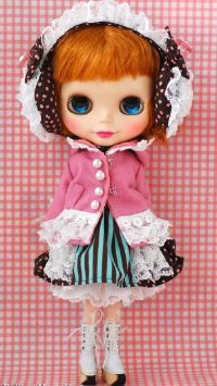 THIS IS BLYTHE - Lace Earmuff Lolita dress set