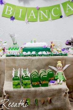 Fairy Birthday Party, 5th Birthday, Birthday Cake, Peter Pan, Ideas Para Fiestas, Birthdays, Kids, Tinkerbell Party, Kids Part