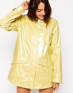 Image 3 - ASOS - Trench imperméable ultra brillant
