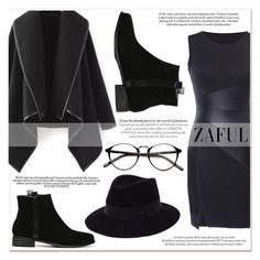 """""""www.zaful.com/?lkid=7011"""" by lucky-1990 ❤ liked on Polyvore featuring Louis Vuitton, Maison Michel and zaful"""