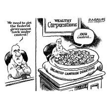 """Political experts estimate $6 billion will be spent on the 2012 presidential elections — a large chunk via anonymous donors thanks to a Supreme Court ruling allowing unlimited corporate campaign donations.  """"More than 35.5 million Americans lived in households (before the recession) unable to consistently purchase adequate food. These results come from the first ever state-by-state analysis of early childhood hunger using data collected by the United States Department of Agriculture."""