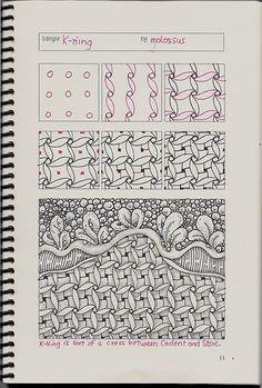 K-Ning-tangle pattern | Flickr - Photo Sharing!