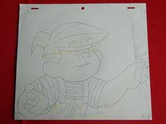 Dennis The Menace Dic 1986 Cartoon Animation Production Pencil Drawing 005 | eBay