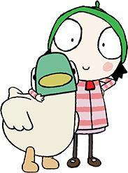 Sarah & Duck activities