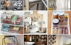 Simple Ideas to Organize Your Kitchen  http://www.thebudgetdecorator.com/