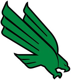 North Texas Mean Green Conference Usa, University Of North Texas, Louisiana Tech, Mean Green, Green Logo, Silhouette Projects, College Football, Team Logo, Colleges