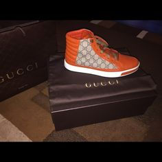 GUCCI SHOES for MENS   *LIMITED EDITION* Size 10  Worn one time REAL GUCCI SHOES Gucci Shoes
