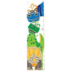 Dino Height Green Growth Chart #pinparty #nursery