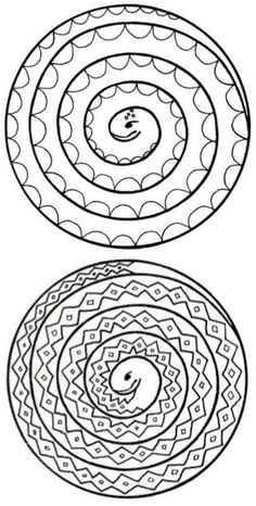 Image to print. (Adam and Eve?) // Image of spiral snakes to print and colour. (Adam and Eve? Bible Crafts, Crafts To Do, Crafts For Kids, Arts And Crafts, Paper Crafts, Diy Crafts, Jungle Crafts, Snake Crafts, Sunday School Crafts