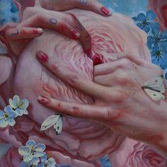 En lo más fffres.co: Ilustraciones eróticas que exploran la inocencia del… #Art #superabundance_of_ordinary_being #jana_brike #ilustración