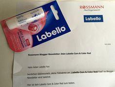 Produkttestseite von Heike: Produkttest : Labello Care & Color Red #Produkttest #sponsored