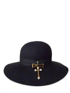 ShopStyle: Borsalino Per Luisa Via Roma - Limited Edition Delfina Delettrez Hat