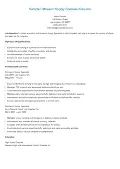 sample purchasing specialist resume resame pinterest