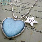 Lumin-Icent sydän 15€ #kaulakoru #necklace #sydän #heart