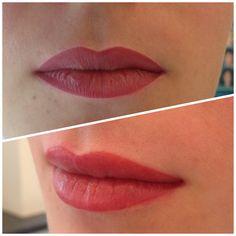 Wieder eine gelungene Lippenpigmentierung aus dem Schulungszentrum Liner, Make Up, Makeup, Bronzer Makeup