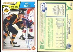 Tony Tanti Vancouver Canucks Vintage Signed 1983 O-Pee-Chee Card # 362 SL COA . $7.00. Vancouver Canucks RWTony TantiHand Signed 1983-1984 O-Pee-Chee Card # 362AUTHENTIC HOCKEY COLLECTIBLE!!! .SIGNATURE IS AUTHENTICATED BY SPORTSLOT AUTHENTICATION WITH A NUMBERED SPORTS LOT STICKER ON ITEM.SL COA: # 6381