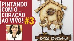 PINTANDO COM O ❤ AO VIVO AULA #3 COM TÂNIA MARQUATO - CASA DE PASSARINHO